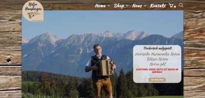 HArmonika Shop Web and Films - Webdesigner Tirol