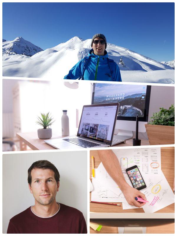 collage Web and Films - Webdesigner Tirol